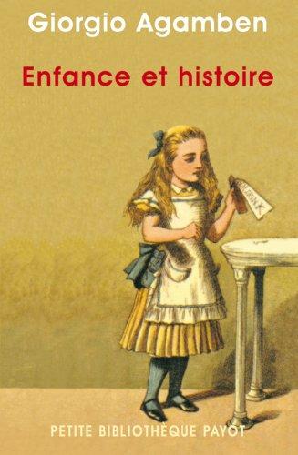 9782228895125: Enfance et histoire