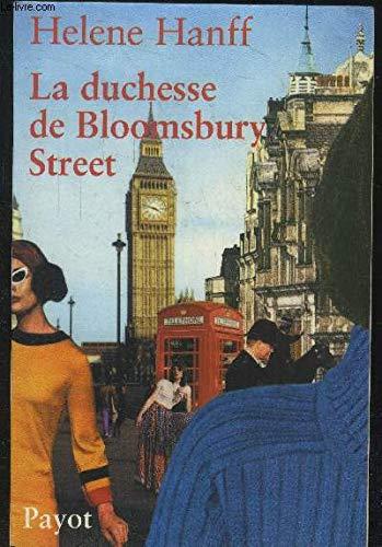 9782228896399: La Duchesse de Bloomsbury Street