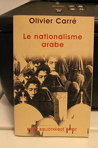 9782228898331: Le nationalisme arabe (French Edition)