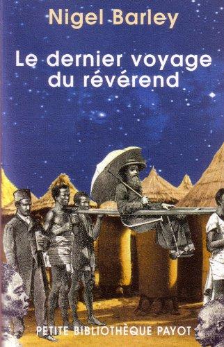 9782228898591: Le Dernier Voyage du Révérend