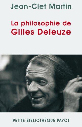 9782228900119: La philosophie de Gilles Deleuze