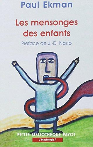 LE MENSONGE DES ENFANTS: EKMAN, P