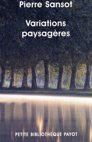 9782228904193: Variations paysagères (French Edition)