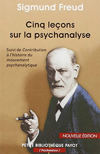 9782228904957: Cinq le�ons sur la psychanalyse : Suivi de Contribution � l'histoire du mouvement psychanalytique