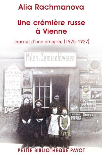 9782228905954: Une crémière russe à Vienne. Journal d'une émigrée (1925-1927)