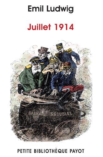 9782228907736: Juillet 1914