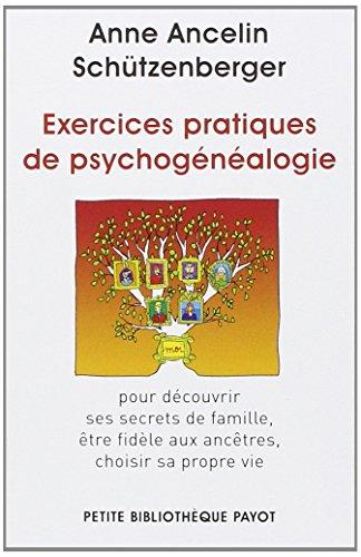 9782228909679: Exercices pratiques de psychogenealogie