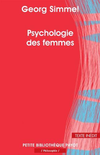 Psychologie des femmes (Petite bibliothèque payot) (French: Simmel, Georg