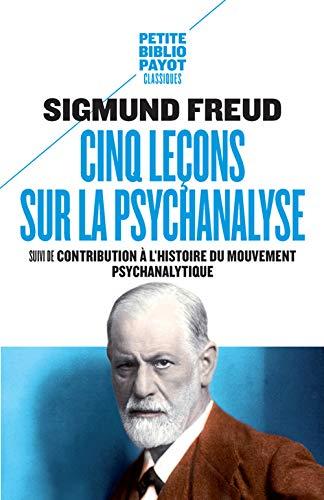 9782228913454: Cinq leçons sur la psychanalyse : Suivi de Contribution à l'histoire du mouvement psychanalytique