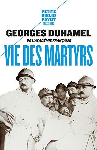 VIE DES MARTYRS: DUHAMEL GEORGES