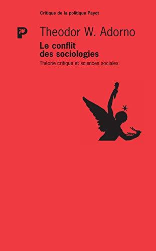 9782228916455: Le Conflit des Sociologies