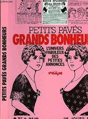 PETITS PAVES GRANDS BONHEURS. L'UNIVERS FABULEUX DES: MARZELLE, FERNAND