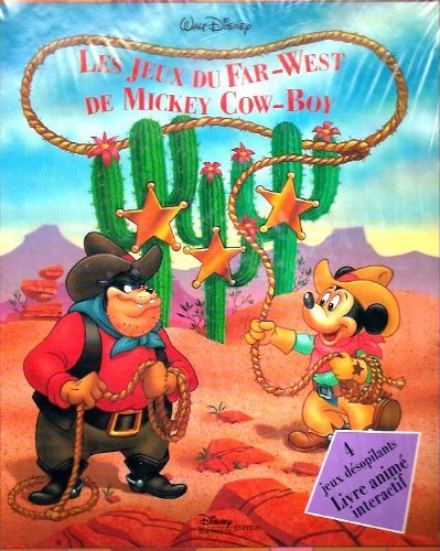 9782230004119: LES JEUX DU FAR-WEST DE MICKEY COW-BOY