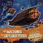 9782230013692: Atlantide, l'empire perdu : Les véhicules explorateurs (Livre + stickers)