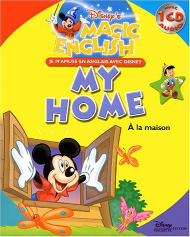 9782230015757: A la maison : My home (1CD audio) (Magic English)