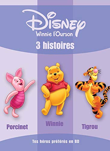 9782230017126: Winnie l'Ourson : 3 histoires : Porcinet ; Winnie ; Tigrou