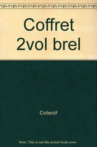 9782232102028: COFFRET 2VOL BREL