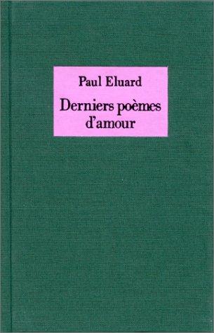 9782232102813: Derniers poèmes d'amour