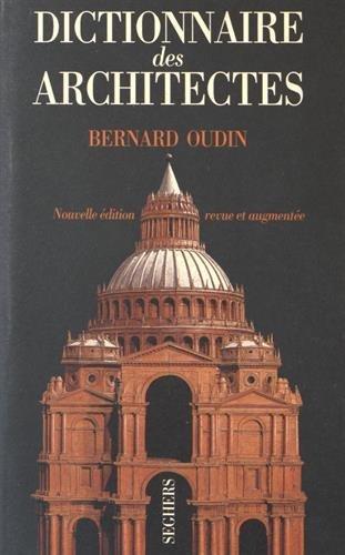 9782232103988: Dictionnaire des architectes (French Edition)