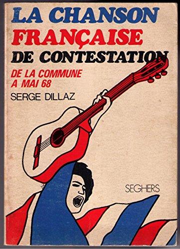 9782232114069: Chanson Française de Contestation. De la commune à mai 68