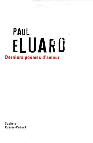 9782232123221: Derniers poèmes d'amour - NE