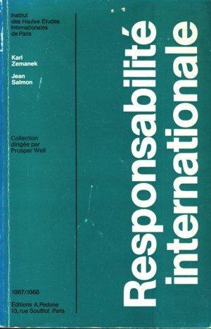 Responsabilité internationale: Karl Zemanec, Jean Salmon