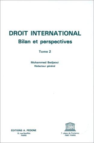 9782233002211: Droit international : bilan et perspectives