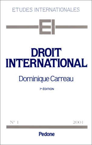 9782233003843: Droit international, num�ro 1