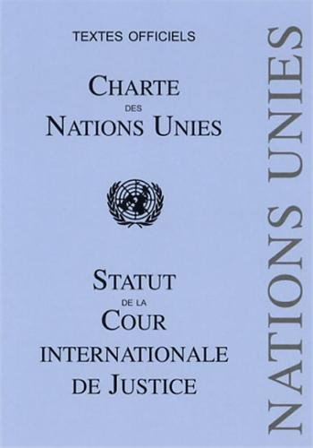 9782233006769: Charte des Nations Unies : Statut de la Cour internationale de Justice