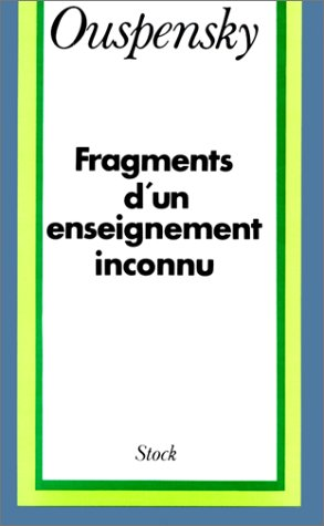 Fragments D'un Enseignement