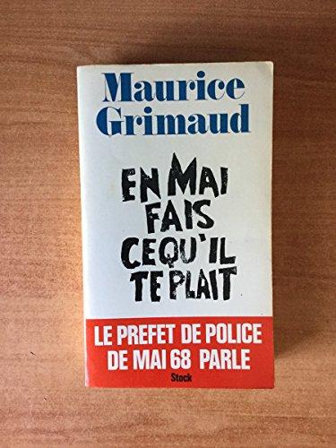 9782234003446: En mai, fais ce qu'il te plait (French Edition)