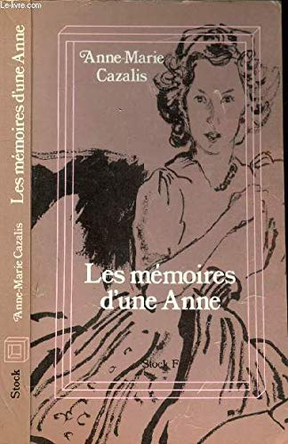 9782234005112: Memoires d'une Anne (Stock F) (French Edition)