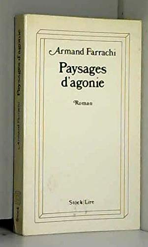 9782234005693: Paysages d'agonie: Roman (Lire) (French Edition)