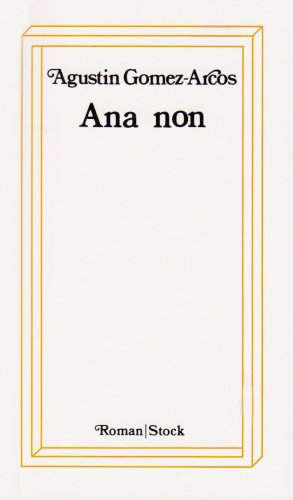 9782234006645: Ana Non (French) (French Edition)