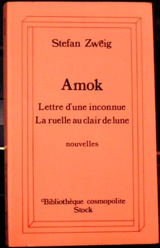 9782234010833: Amok (Bibliothèque cosmopolite)