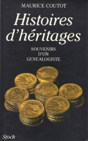 9782234017771: Histoires d'héritages: Souvenirs d'une généalogiste (French Edition)