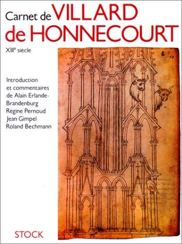 9782234019768: Carnet de Villard de Honnecourt : D'après le manuscrit conservé à la Bibliothèque nationale de Paris, n ° 19093