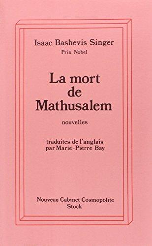 9782234021679: La mort de mathusalem (French Edition)