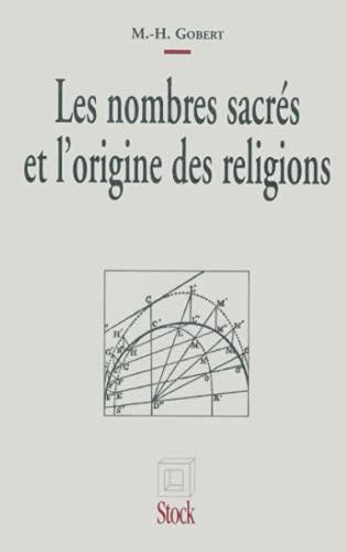 9782234025424: Les nombres sacr�s et l'origine des religions