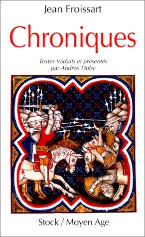 9782234025509: Chroniques: Textes traduits et presentes par Andree Duby (French Edition)