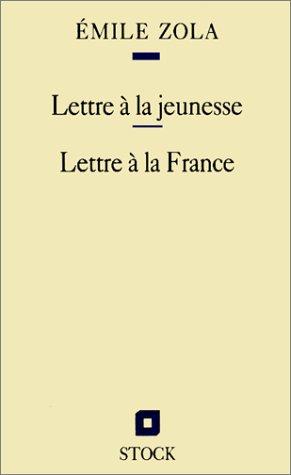 9782234048867: Lettre à la jeunesse - Lettre à la France