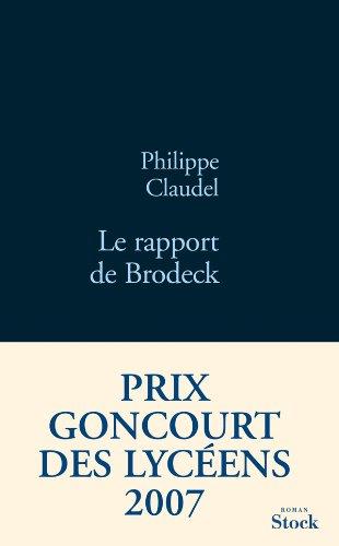 9782234057739: Le rapport de Brodeck