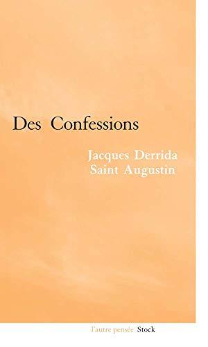 """""""jacques derrida, saint augustin ; des confessions"""" (2234059615) by JACQUES DERRIDA"""