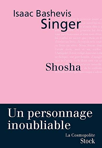 Shosha (French Edition) (2234059895) by singer