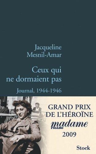9782234062030: Ceux qui ne dormaient pas (French Edition)