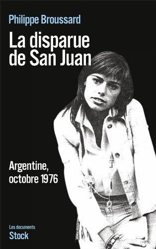 9782234062511: La disparue de San Juan