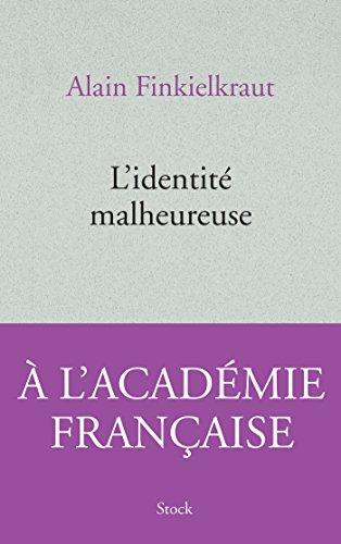 9782234073364: L'identité malheureuse (Essais - Documents)