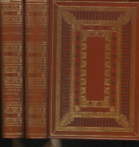 9782235000598: LES MONDES ANTIQUES. TOME V et VI. LA GRECE. NOUVELLE HISTOIRE GRECQUE.