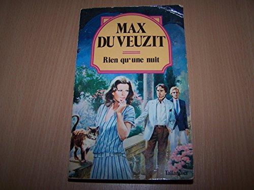 Rien qu'une nuit (Collection Max Du Veuzit)