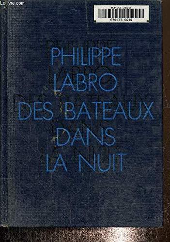 9782235013154: Des Bateaux dans la nuit (Cercle du nouveau livre)